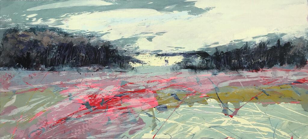 Silkscreen Painting Gail Mason Available