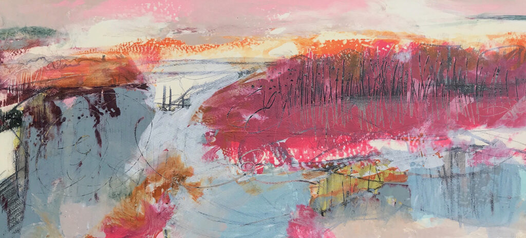 Promise Silkscreen Painting Gail Mason